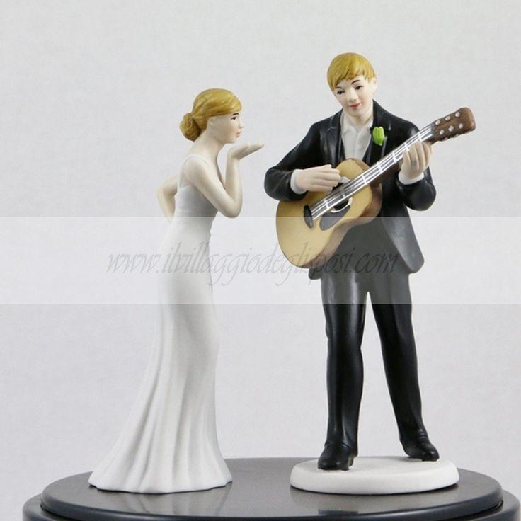 Cake Topper tema musica/Music Cake Topper Disponibile/Available http://www.ilvillaggiodeglisposi.com/