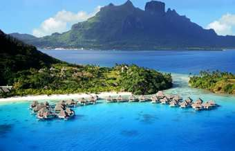 A villa over the water! This is the Hilton Bora Bora Nui Resort! I am going sometime in my life!