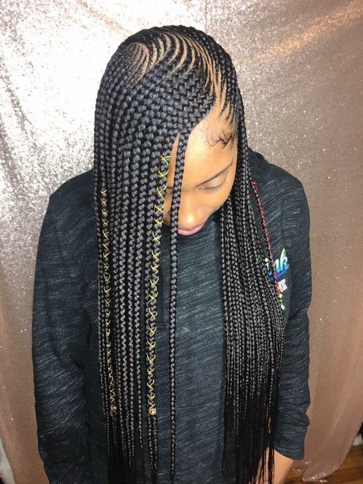 Hair Braiding Ideas For Black Women African Braids Hairstyles Lemonade Braids Hairstyles Hot Hair Styles
