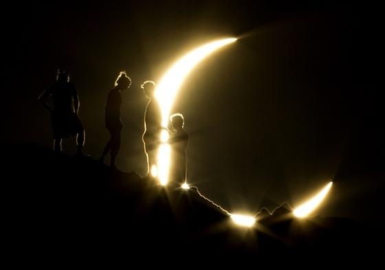 Pazar fotók a gyűrűs napfogyatkozásról - HVG.huPhotos, Moon, Moon, Papago Parks, Rings Of Fire, Phoenix, Sun, Solar Eclipse, Solar Eclipes