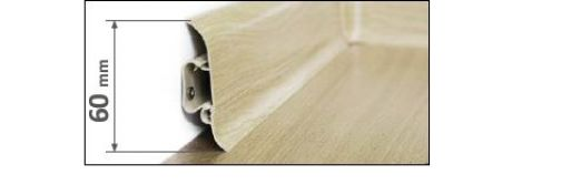 These PVC SKIRTING BOARDS are prefinished, removeable plus they can conceal cords and cables inside them. LP55 Skirting board:  Length:2.5 meters  Height:60 mm  Width:22 mm