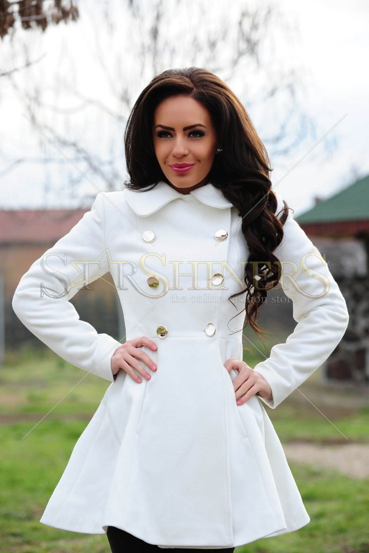 LaDonna Fashion Journey White Coat