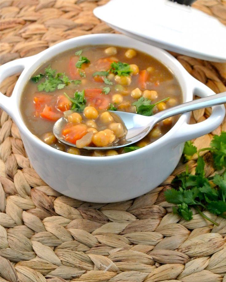 kikkererwten curry, lekker met rijst