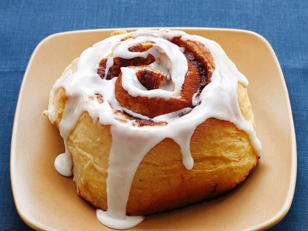 Almost-Famous Cinnamon Buns: You can't beat sweet dough filled with gooey, buttery cinnamon and topped with sweet glaze.