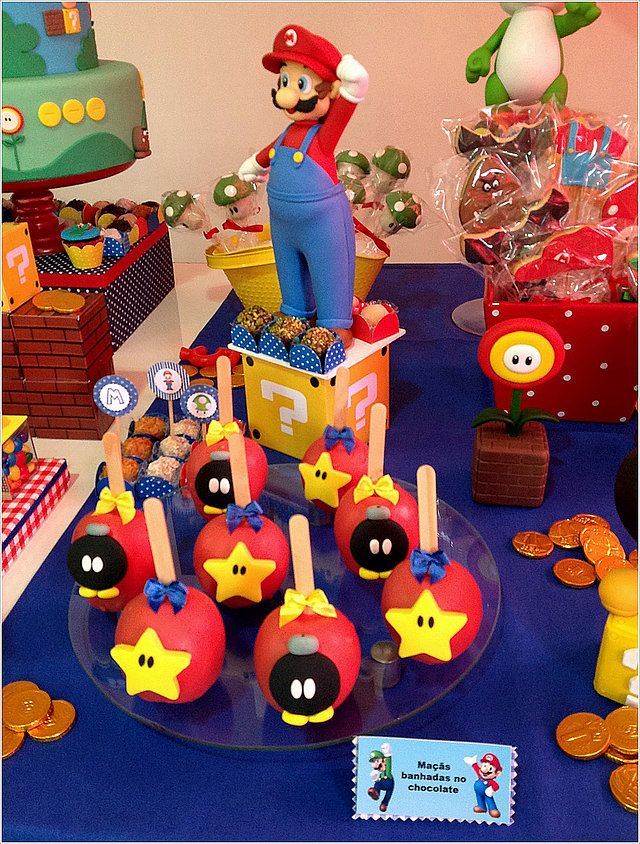 festa personalizada infantil super mario bros kika bernardes atelie festas