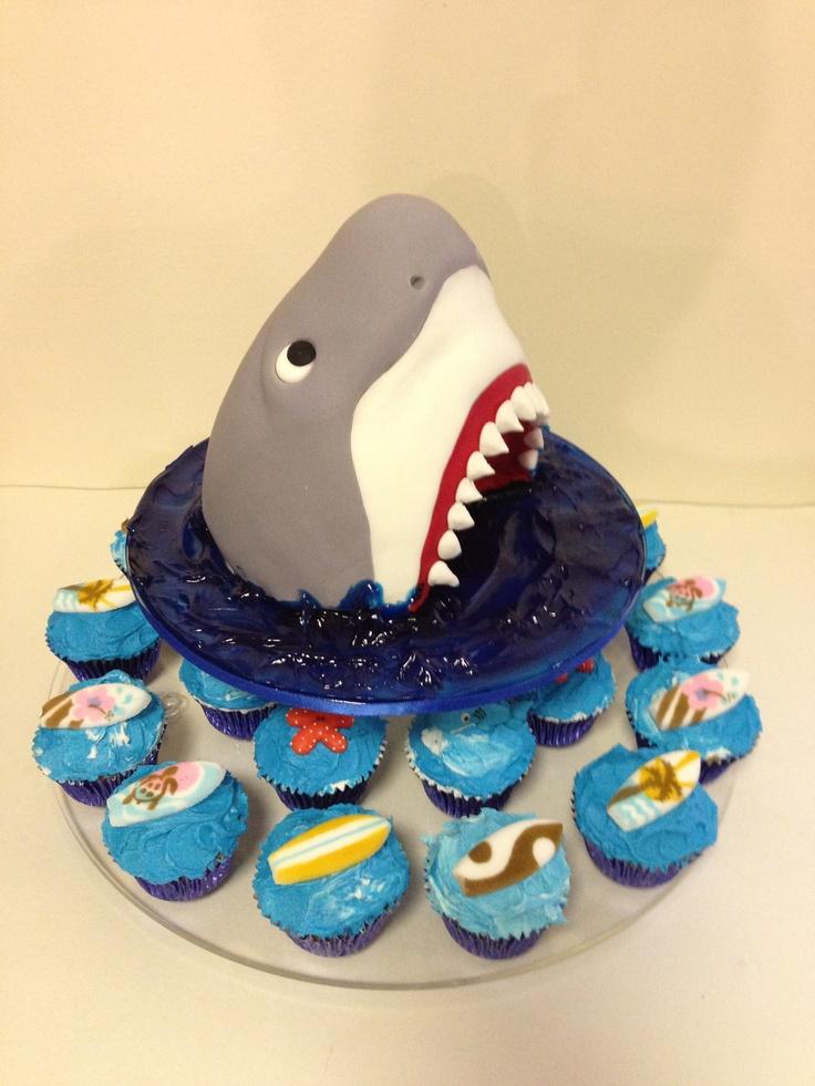 218 best Shark-Infested Party images on Pinterest | Shark week ...