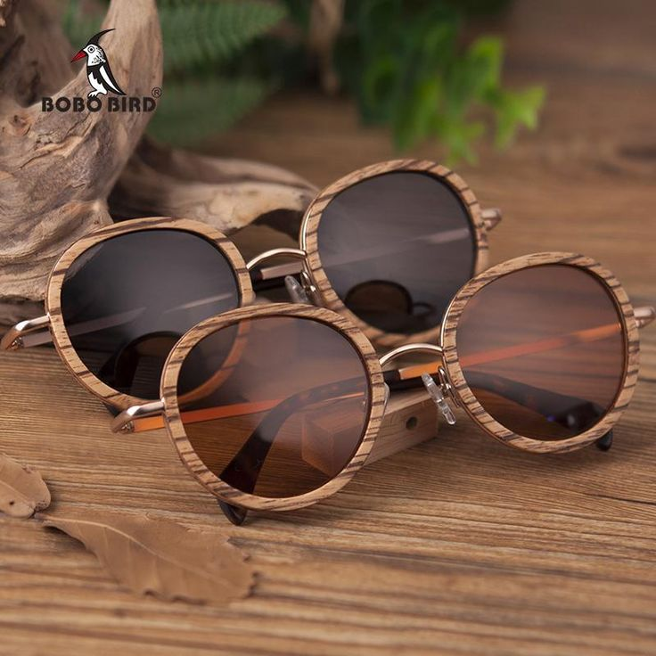 d3dfe514ebf BOBO BIRD Wholesale Zebra Wooden Bamboo Polaroid Sunglasses Polaroid Sun  Glasses Ladies Eyewear in Wood box