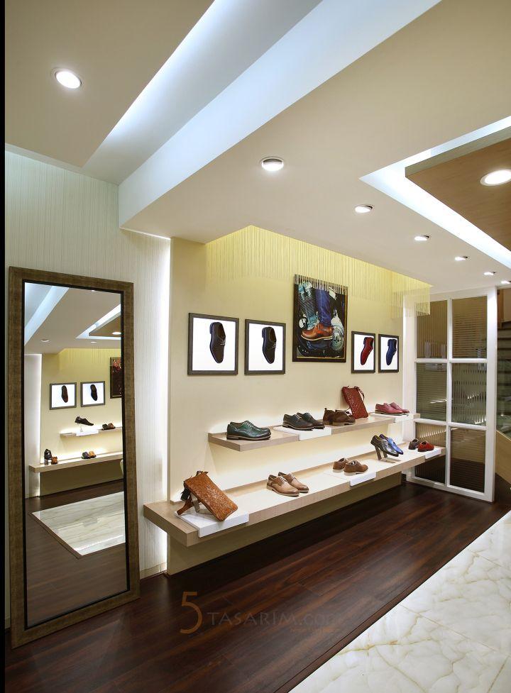 ayakkabı mağaza dizaynı