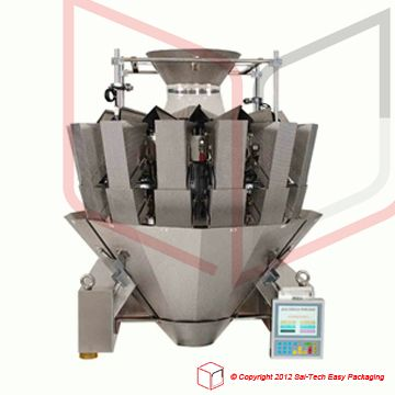 14 Head dimple plate multihead weigher