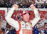 Dale Earnhardt Jr. snaps drought, wins rain-delayed Daytona 500. #Dayton500 #EarnhardtJr