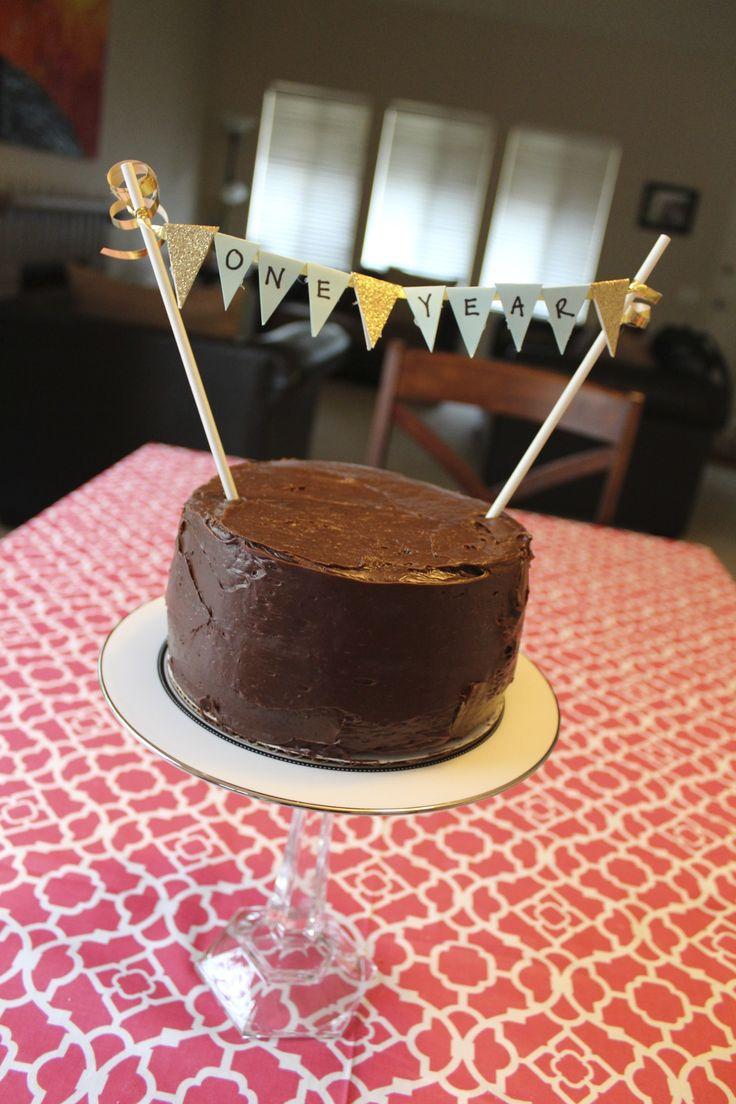 One year anniversary cake!