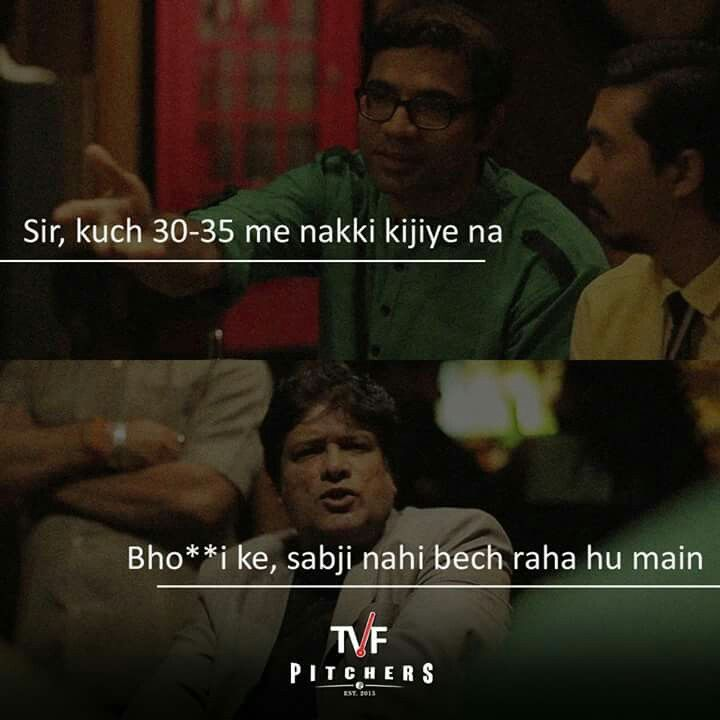 TVF pitchers.. bhav taal