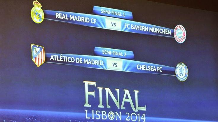 RADIO    CORAZON     DEPORTIVO: UEFA CHAMPIONS LEGUE[SORTEO SEMIFINALES]: MADRID- ...
