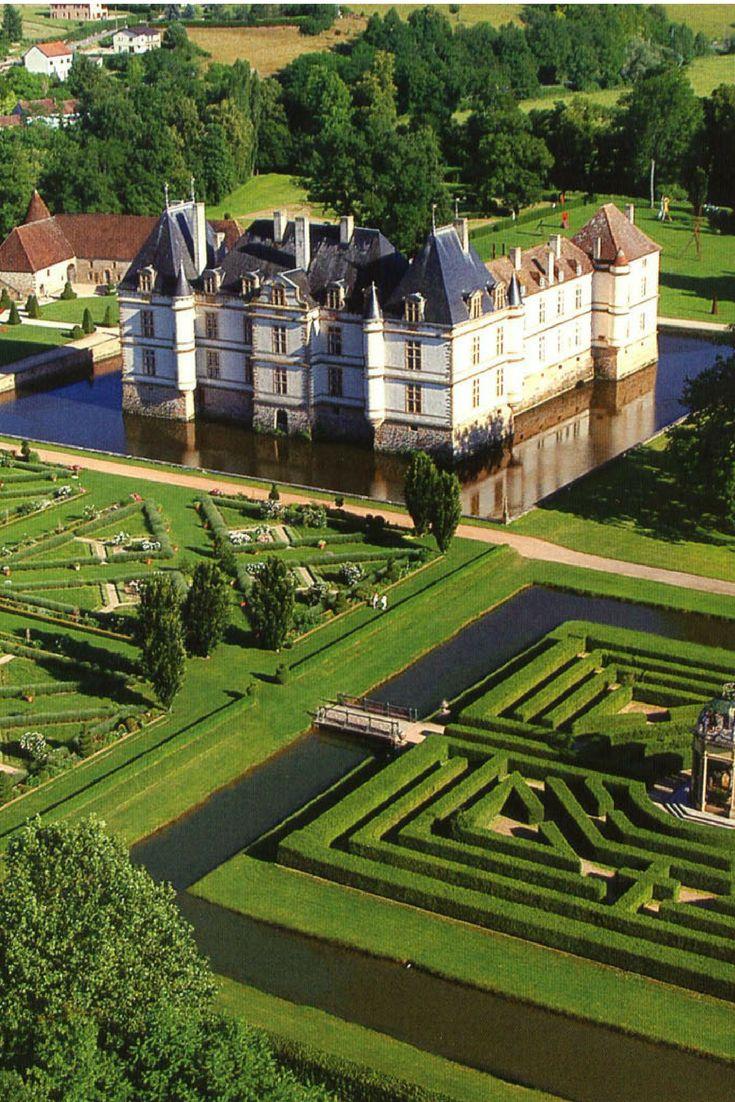 Château de Cormatin, Bourgogne, France