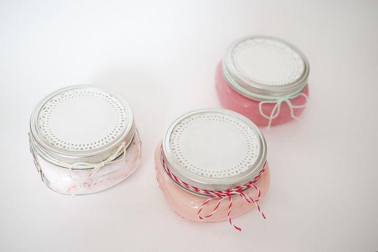 Make It: DIY Spa Kit (Peppermint scrub, peppermint body butter & peppermint hot soak) - Tutorial #handmadegiftideas #beauty