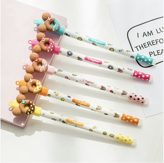 Great For Classrooms 24 Donut Pencils And Party Favors School Supplies