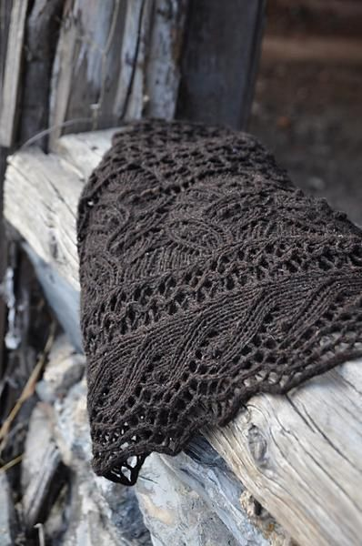 Juneberry Triangle Shawl...oh, how I ADORE Jared Flood's patterns! He is a GENIUS!