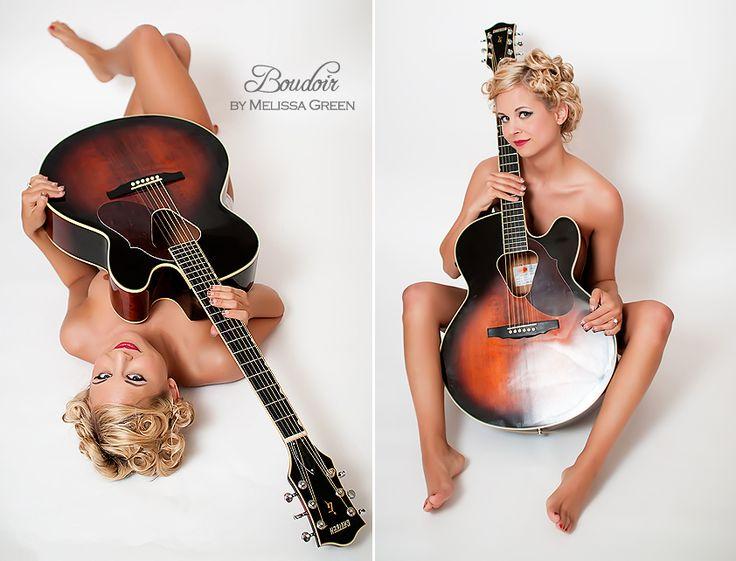 boudoir photography guitars - Google Search