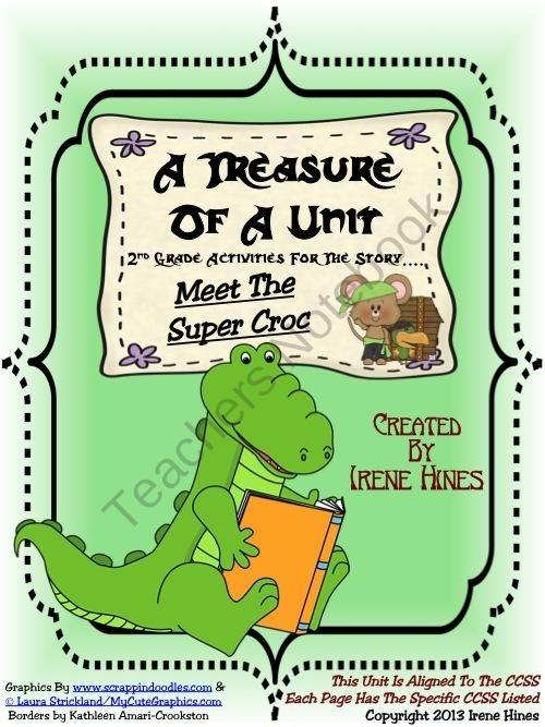 meet the super croc main idea
