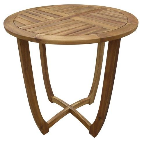 With the Christopher Knight Home Carina Round Acacia Wood Accent Table, you get the beauty of a smooth finish with the strength of true acacia wood.