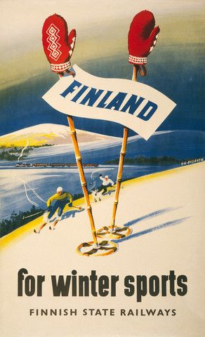 Finland for Winter Sports – Vintagraph