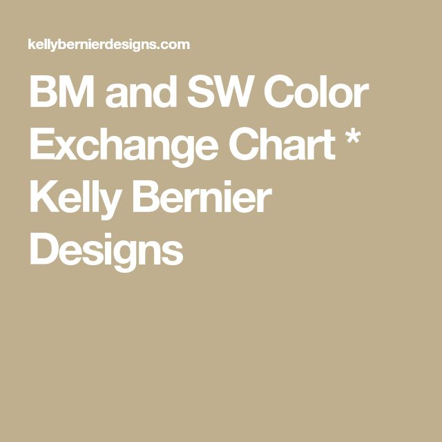 bm and sw color exchange chart kelly bernier designs on benjamin moore color chart visualizer id=40215