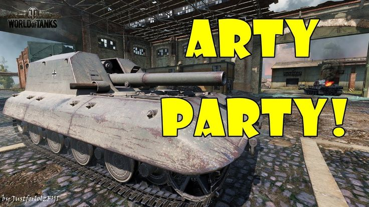 World of Tanks - Funny Moments   ARTY PARTY! #44