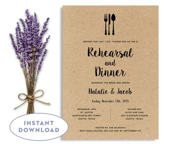 best 25+ wedding rehearsal invitations ideas on pinterest | dinner, Wedding invitations