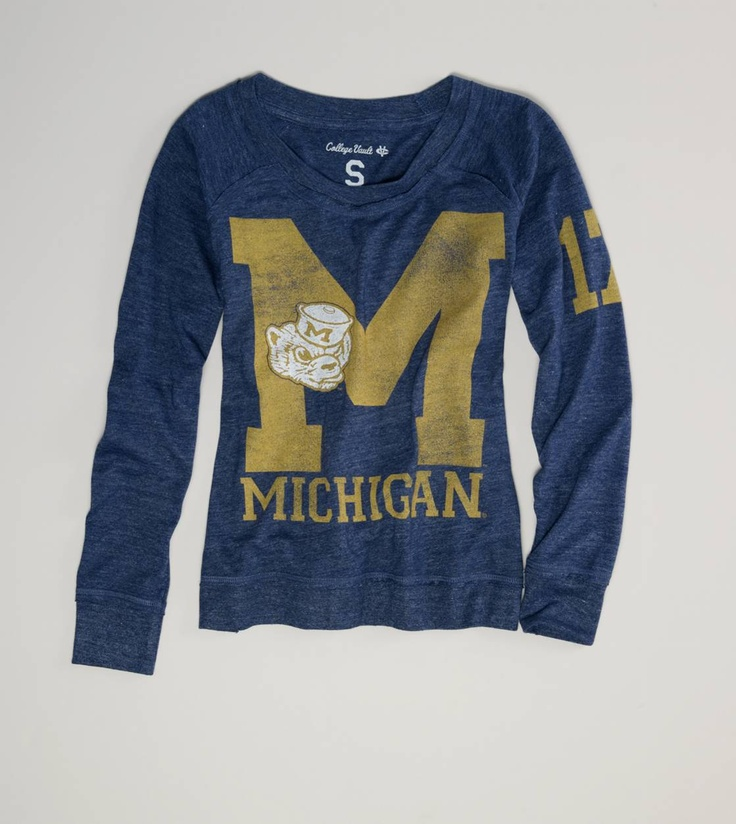 Great vintage college apparel that is cheaper than most campus bookstores.