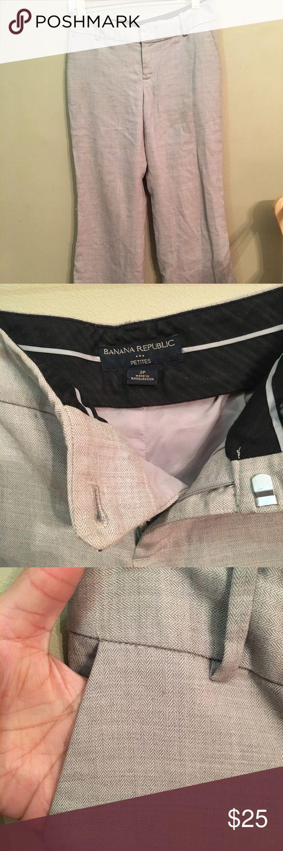 BR factory work pants. 40% wool. Slight flaws, please see pics. Banana Republic Pants Trousers
