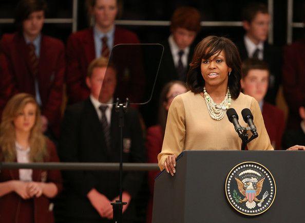 Michelle Obama Photos Photos - The Obamas Visit Berlin - Zimbio