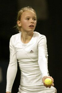 Caroline Wozniacki was 7 when she started playing tennis.  Wozniacki turned pro one week after turning 15.  She is current ranked #15 in the world.