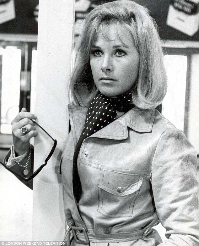 Wanda Ventham pictured in a scene from the programme The Gold Robbers in 1969...