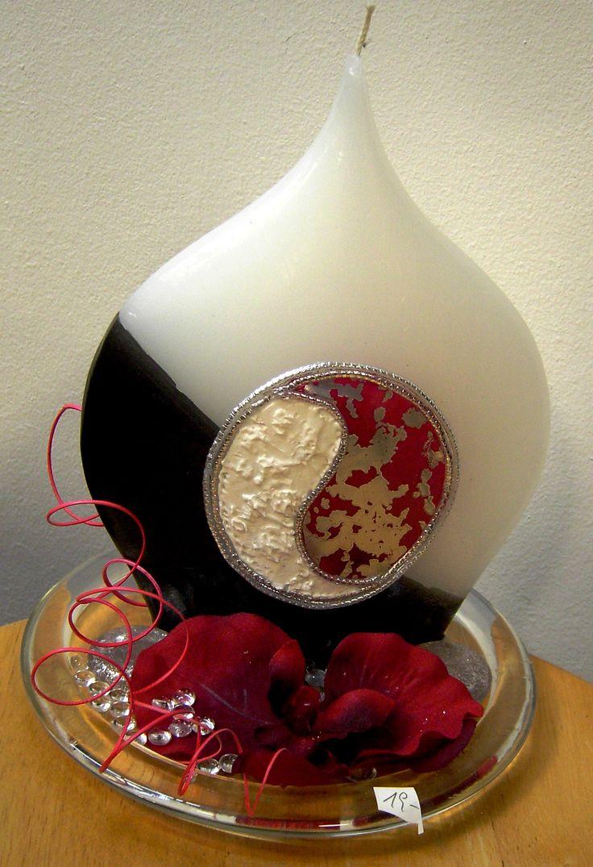 Kerzen - Einzelstück www.geschenke-mit-stil.at