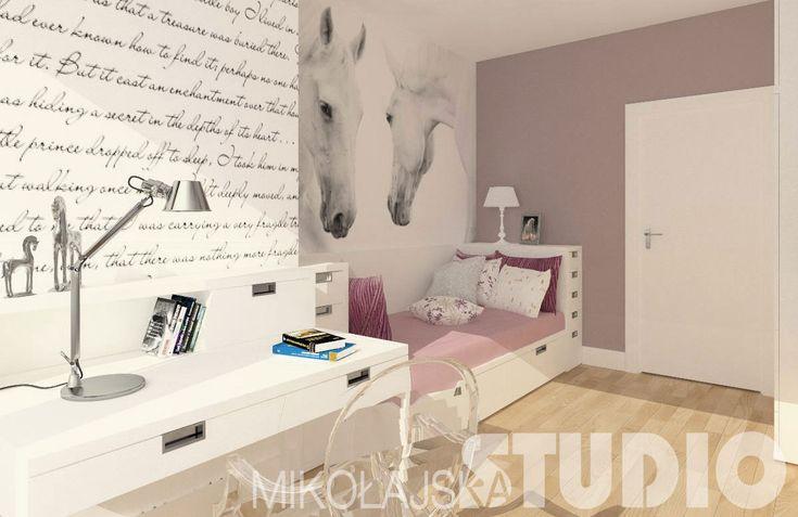 Pokój dla dziewczynki – MIKOŁAJSKAstudio Krystyna Mikołajska