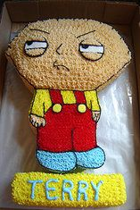 Stewie from Family Guy cake