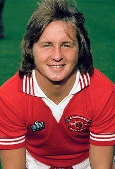 David McCreery Manchester United 1978