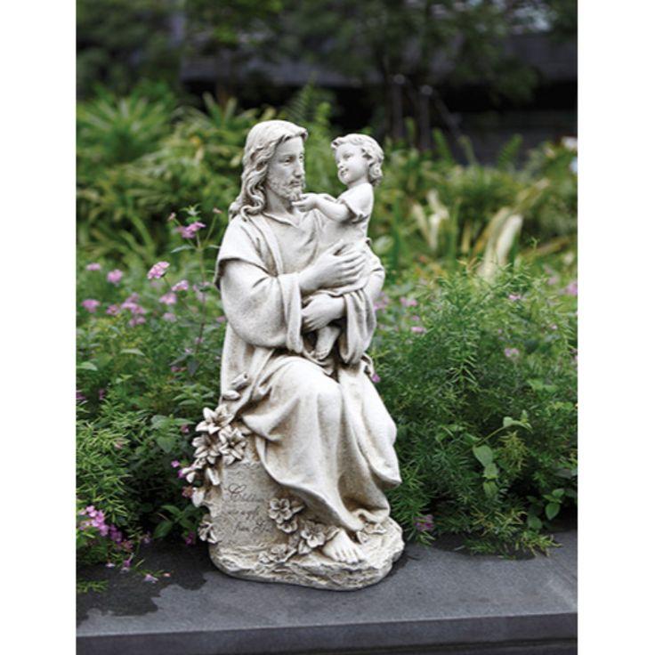 Jesus with Child Garden Statue, Garden / Outdoor