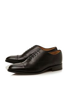 Barker Nevis toecap gimped oxford shoes