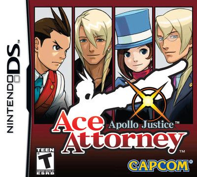Apollo Justice: Ace Attorney Game Rated for 3DS in S. Korea