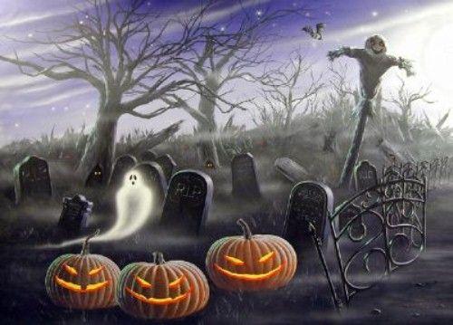 halloween mural   Halloween Mural   Season of Shadows Blog