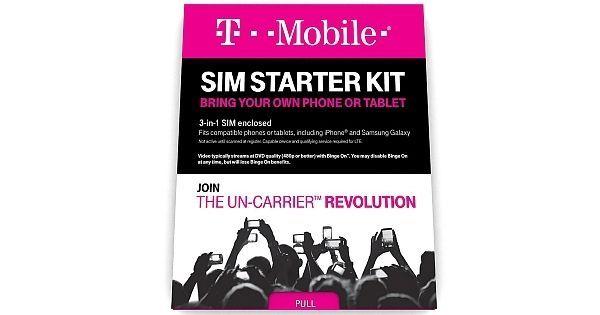 Free 30 Days - T-Mobile $65 Prepaid Sim Card Plan 6GB + international talk&text  #TMobile