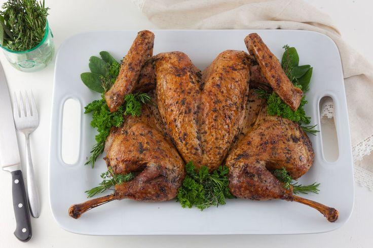 Fastest, Crispiest, Juiciest Roast Turkey | Roast Spatchcock Turkey