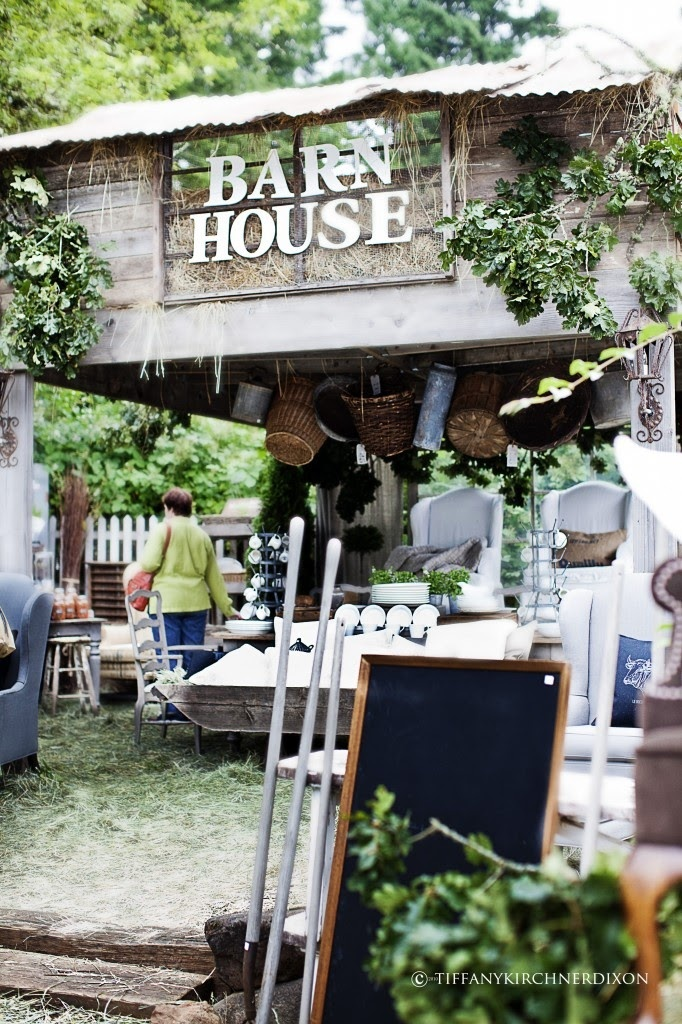 Barn House - a vintage market held annually in Washington State