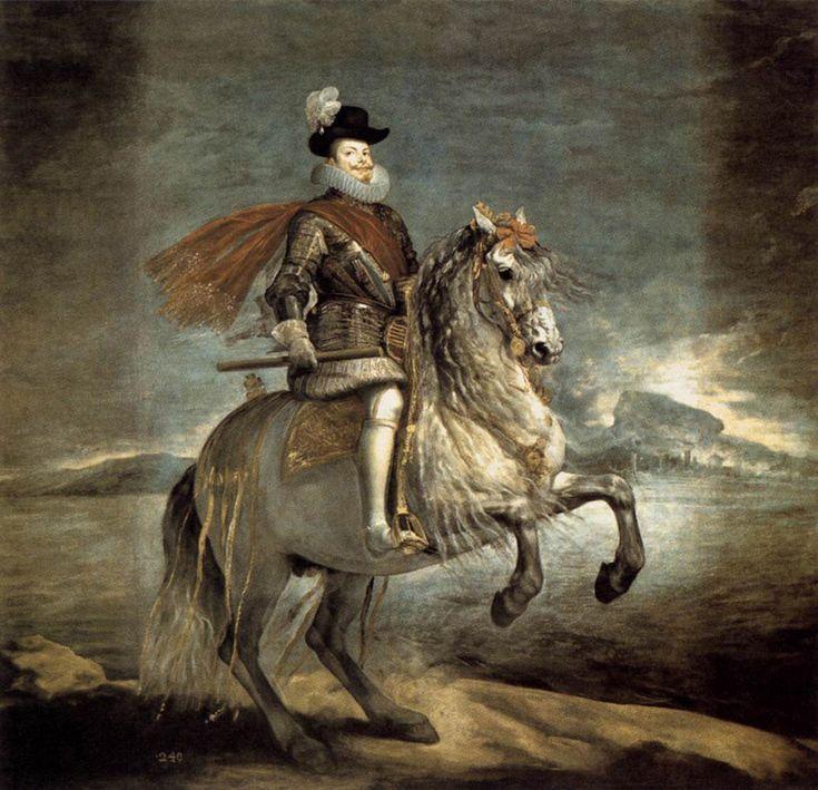 Equestrian Portrait of Philip III - Diego Velazquez