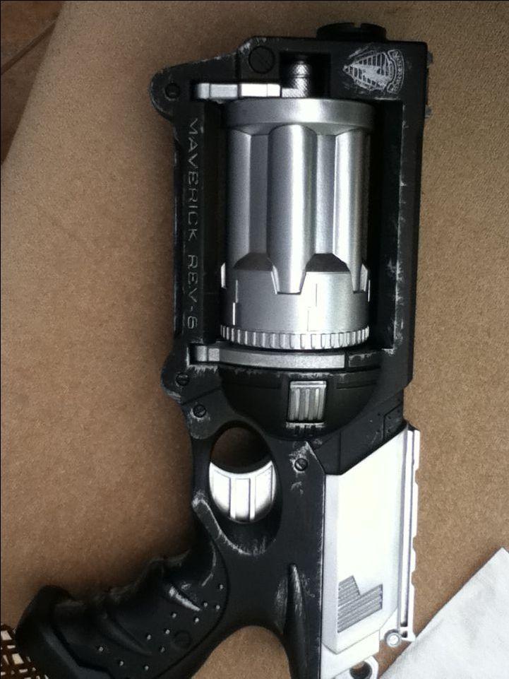 How to custom paint a nerf gun!!