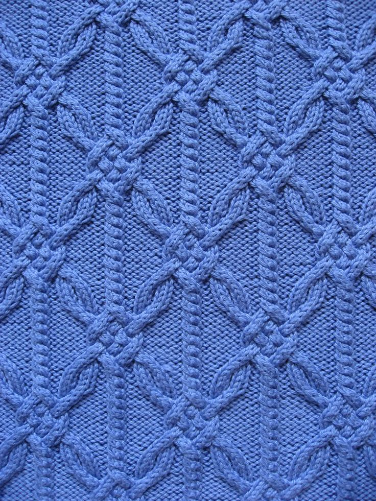 Beautiful pattern stitch not in English but has chart