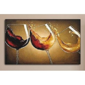 pintura copas de vino - Buscar con Google