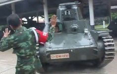 Functional Type 95 Ha-Go tank of the Royal Thai Army in 2010.