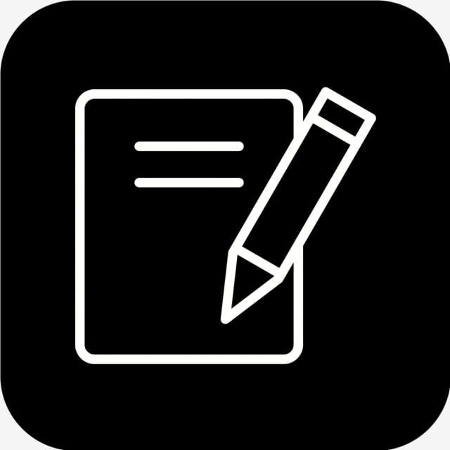 Vector Notes Icon Document Notes Office Png And Vector With Transparent Background For Free Download App Icon Iphone Photo App Ios Icon